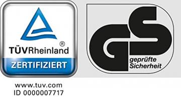 Krinner Christbaumständer Vario Classic – Baumhöhe bis 2,60 m, Stammdurchmesser 12 cm, Rundum-Einseil-Technik – 94001 - 5