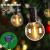 LED Lichterkette Außen Solar,Balippe 8.9M Lichterkette Glühbirne mit 28er+2er,Solar lichterkette Aussen IP55 Wasserdicht 4 Modus für Garten, Hochzeit, Balkon, Haus, Party, Weihnachten Deko, Warmweiß - 2