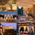 Lichterkette Außen Solar, litogo G40 Solar Lichterkette Glühbirnen Aussen 8M 25+2 LEDs IP55 Wasserdicht 4 Modus Solarlichterkette für Garten, Hochzeit, Balkon, Haus, Weihnachten Deko, Warmweiß 2700K - 2