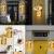 MMTX 2 Stück Mason Jar Licht, Weihnachtsdeko Wand Holzdeko mit Licht & Künstliche Blumen, Wandkerzenhalter LED Lichterkette, Chic Home Garten Decor Geschenke, Balkondeko, Schlafzimmer Deko - 3
