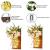 MMTX 2 Stück Mason Jar Licht, Weihnachtsdeko Wand Holzdeko mit Licht & Künstliche Blumen, Wandkerzenhalter LED Lichterkette, Chic Home Garten Decor Geschenke, Balkondeko, Schlafzimmer Deko - 4