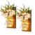 MMTX 2 Stück Mason Jar Licht, Weihnachtsdeko Wand Holzdeko mit Licht & Künstliche Blumen, Wandkerzenhalter LED Lichterkette, Chic Home Garten Decor Geschenke, Balkondeko, Schlafzimmer Deko - 1