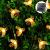 Solar Lichterkette, 50 Süße Honigbienen LED Lichter, 7M / 24Ft 8 Modi Sternenlichter, Wasserdichte Feenhafte Dekorative Lichterketten für Außen, Hochzeits, Wohn, Garten, Terrassen, Party(Warmweiß) - 2