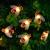 Solar Lichterkette, 50 Süße Honigbienen LED Lichter, 7M / 24Ft 8 Modi Sternenlichter, Wasserdichte Feenhafte Dekorative Lichterketten für Außen, Hochzeits, Wohn, Garten, Terrassen, Party(Warmweiß) - 1
