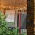 Solar Lichterkette Glühbirnen Aussen, Bomcosy 15M 25 LEDs G40 Außen Beleuchtung, USB wiederaufladbar, 4 Modus Solarlichterkette für Garten, Hochzeit, Balkon, Haus, Weihnachten Deko, Warmweiß 2700K - 4