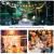 WOWDSGN 30+3 Stk. G40 Glühbirnen Lichterkette Außen, LED Glühlampen Lichterkette für Innen und Außen, Strombetrieben, Wasserdicht, keine Kitze, ideal für Weihnachtsdeko, Hochzeit, Party usw. - 3