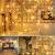 100 LED Lichterkette Außen Batterie, BrizLabs Warmweiß Weihnachtsbeleuchtung Innen 8 Modi Wasserdicht mit Timer für Zimmer Weihnachten Party Hochzeit Beleuchtung Deko, Durchsichtigen Kabeln - 4