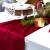 100% Mosel Tischläufer Samt, in Bordeaux Rot (28 cm x 5 m), Tischband aus Polyester in matter Samt-Optik, edle Tischdeko für den Herbst & Winter, Dekoration zu besonderen Anlässen - 4