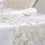 100%Mosel Tischläufer Sterne, in Gold/Metallic (28 cm x 5 m), Tischband aus Organza, edle Tischdeko für Weihnachten & Adventszeit, Festliche Dekoration zu besonderen Anlässen - 4
