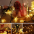 18M Lichterkette Außen Solar, OxyLED 110 LED Lichterketten Sterne Solar Lichterkette Aussen Solar Lichterkette Außen Weihnachtsbeleuchtung Dekoration für Garten,Terrasse,Party,Hochzeit (Warmweiß) - 4