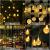50 Led Lichterkette Solar Außen, 10 M 8 Modi Beleuchtung Solarlichterkette mit Wasserdicht Lichtsensor Kristall Kugel warmweiß Solarlampe Deko für Garten Party Hochzeite Weihnachten - 3