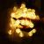 ACBungji 6M/10M LED Lichterkette Batteriebetriebene mit 80 LED Beleuchtung Weihnachtsbeleuchtung Warmweiß für Zimmer Außen/Innen Garten Dekoration Party Hochzeit Schaufenster (6M) - 1