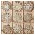 Ambolio 36 Stück Holz Weihnachten Anhänger,Mini Schneeflocken Holzscheiben Streudeko,Holz Weihnachtendeko,Holz Weihnachten Basteln,Schneeflocken Christbaum Anhänger,Holz Streudeko Weihnachten - 1