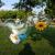 Amosfun Acrylformen Kunststoff Füllbar Teilbar Deko Herz Hänger Bastelkugel mit Aufhängeöse Hochzeit Valentinstag Hängende Dekoration 6cm 10 Stück (Transparent) - 3