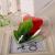 Amosfun Acrylformen Kunststoff Füllbar Teilbar Deko Herz Hänger Bastelkugel mit Aufhängeöse Hochzeit Valentinstag Hängende Dekoration 6cm 10 Stück (Transparent) - 4