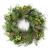 artplants.de Künstlicher Tannenkranz, Zapfen und Efeu, Ø 60cm - Türkranz - Weihnachtsdeko - 1