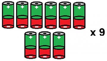 Bambelaa! 3er Led Deko Geschenke Leucht Boxen Timer Weihnachts Dekoration Weihnachtsdeko Beleuchtet Deko Weihnachten (Gold) - 7