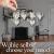 Bella O'Blue Kerzenständer für Teelichter I Teelichthalter Tischdeko I 4 Kerzenhalter in Dekoschale mit Deko Herz, Dekosteine weiß I Home + Love - 3