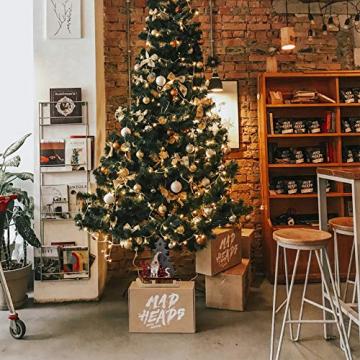 BESPORTBLE Weihnachten Holz Schriftzug Weihnachtsmann Figur Xmas Deko Aufsteller Objekt Mini Weihnachtsbaum Schlitten Weihnachten Tischdekoration Dekofigur Weihnachtsschmuck - 5