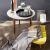 blomus -NERO- Kerzenleuchter aus pulverbeschichtetem Stahl mit Glas, moderner Kerzenhalter mit hochwertiger Verarbeitung, stilvolles Wohnaccessoire (H / B / T: 21,5 x 31,5 x 31,5 cm, Schwarz, 65558) - 3