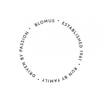 blomus -NERO- Kerzenleuchter aus pulverbeschichtetem Stahl mit Glas, moderner Kerzenhalter mit hochwertiger Verarbeitung, stilvolles Wohnaccessoire (H / B / T: 21,5 x 31,5 x 31,5 cm, Schwarz, 65558) - 4