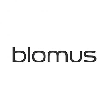 blomus -NERO- Kerzenleuchter aus pulverbeschichtetem Stahl mit Glas, moderner Kerzenhalter mit hochwertiger Verarbeitung, stilvolles Wohnaccessoire (H / B / T: 21,5 x 31,5 x 31,5 cm, Schwarz, 65558) - 5