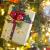 CINMOK 4Rolle Weihnacht Geschenkband 400Yard Gold Silber Ringelband Weihnachten Geschenkverpackung Polyband zum Basteln Xmas Deko Band für Geschenk Luftballons Neujahr Hochzeit Valentinstag Geburtstag - 3