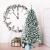 COSTWAY 180/225cm Künstlicher Weihnachtsbaum mit Schnee, Tannenbaum mit Metallständer, Christbaum PVC Nadeln, Kunstbaum Weihnachten Klappsystem ideal für Zuhause, Büro, Geschäfte und Hotels (180cm) - 2