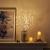 EAMBRITE 3er Set Lichterbaum 60LEDs Wasserdichte Lichterzweige 76CM Warmweißes Zweiglicht rein Weiß Außen-Innen Wohnug deko für Weihnachten Ostern Halloween - 2