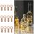 Ehome Flaschenlicht 2M/12x 20 LED Flaschen-Licht Lichterkette flaschenlichterkette korken LED Nacht Licht Weinflasche Hochzeit Party romantische Deko (warm) - 1