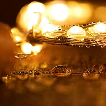 Ehome Flaschenlicht 2M/12x 20 LED Flaschen-Licht Lichterkette flaschenlichterkette korken LED Nacht Licht Weinflasche Hochzeit Party romantische Deko (warm) - 7