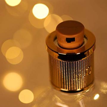 Ehome Flaschenlicht 2M/12x 20 LED Flaschen-Licht Lichterkette flaschenlichterkette korken LED Nacht Licht Weinflasche Hochzeit Party romantische Deko (warm) - 8