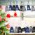 EKKONG Adventskalender zum Befüllen, Adventskalender Säckchen 24 Stücke Stoffbeutel mit 24 Zahlenaufklebern 2020 Weihnachtskalender Geschenksäckchen Vintage-Stil DIY Bastelset - 4
