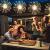 Feuerwerk Lichterketten, 4 Stücke Starburst Lichter Feuerwerk LED Licht Kupferdraht Feuerwerk Lichter Weihnachten Feuerwerk Zeichenfolge 8 Modi wasserdicht mit Fernbedienung - 4