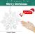 GOLRISEN 24 Stück Weihnachten Schneeflocken Anhänger Weihnachtsbaum Deko Glitzer Weihnachtsdeko Schneeflocke Weiß Christbaumschmuck Schneeflockendeko für Weihnachtsdeko Fensterdeko Winterdeko 10cm - 2