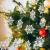 GOLRISEN 24 Stück Weihnachten Schneeflocken Anhänger Weihnachtsbaum Deko Glitzer Weihnachtsdeko Schneeflocke Weiß Christbaumschmuck Schneeflockendeko für Weihnachtsdeko Fensterdeko Winterdeko 10cm - 1