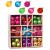HBHS Christbaumkugeln, Suddefr Weihnachtskugel, 99 Teilig, 3CM, Weihnachtsbaumschmuck, Kunststoff, Baumschmuck für Urlaub, Hochzeit, Partydekoration. - 1