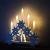 HEITMANN DECO LED-Lichterbogen aus Holz - Stimmungsleuchter - Schwibbogen - beleuchtete Weihnachtsdeko - weiß - für innen - 3