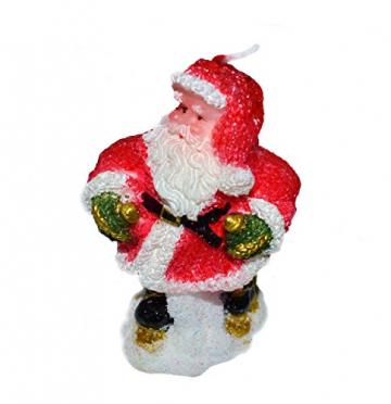 Helmecke & Hoffmann * 3er Set Weihnachtskerzen Weihnachtsdeko Tischdeko Adventdeko - 2