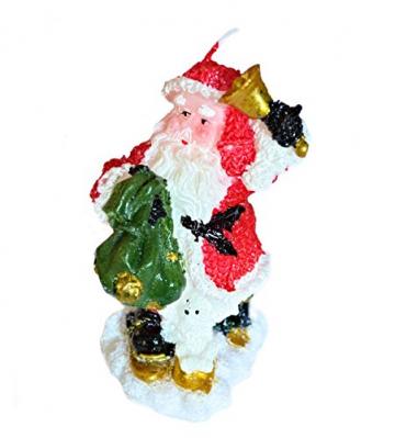 Helmecke & Hoffmann * 3er Set Weihnachtskerzen Weihnachtsdeko Tischdeko Adventdeko - 4