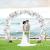 iZoeL 100Stk Silber Weiß Luftballon Girlande Kit Konfetti Luftballon + Ballongirlande Streifen für Geburtstag Mann Hochzeit Taufe Junge (Silber) (Silber) - 3