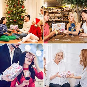 IZSUZEE Duftkerze Geschenkset 6 Stück (je 4,5 OZ), Natürliche Sojakerzen Kerze für Damen, Yoga Deko Duftkerzen Frauen Geschenke für Weihnachten Valentinstag Geburtstag Muttertag, Blumenduft, MEHRWEG - 6