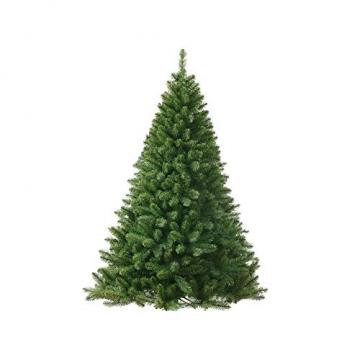 Jellywood künstlicher Weihnachtsbaum grüne Tanne, Tannenbaum Christbaum mit Metallständer:M 150cm Expressversand vor Weihnachten - 1