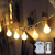 Kugel Lichterkette Batterie 6M 40LED mit 8 Modi Silberdraht Wasserdicht Weihnachtsbeleuchtung außen innen für Schlafzimmer Gläser Camping Hochzeitsfeier Festival Baumschmuck (Warmweiß) - 1