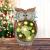 La Jolíe Muse Gartendeko Eule Solar Leuchte, aus Kunstharz Wetterfest, Weihnachten Geschenk Eule, Gartenfigur Ornament für draußen Hof & Balkon H27 x W16cm - 2