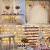 LE Lichtervorhang 3 * 3m, Lichterketten Vorhang 300 LEDs Warmweiß mit Haken und Anhänger, 8 Modi Dimmbar Kupferdraht, Lichterkette mit Stecker für Party Weihnachten Außen Innen Schlafzimmer Deko - 2
