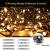 Led Lichterkette Strom 30M 300 LED mit Fernbedienung Timer Merkfunktion Lichterkette Steckdose IP65 Wasserdicht für Innen und Außen,Niederspannung, Warmweiß Lichterkette für Party, Weihnachten, Garten - 2