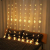 Led Lichterketten, 80 Sterne 144 Leds 2mx1.5m Anschließbar Sternenvorhang mit 8 Modi Fernbedienung fensterlichterketten weihnachten Weihnachtsbeleuchtung für Fenster Dekorat - 3