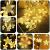 Led Lichterketten, 80 Sterne 144 Leds 2mx1.5m Anschließbar Sternenvorhang mit 8 Modi Fernbedienung fensterlichterketten weihnachten Weihnachtsbeleuchtung für Fenster Dekorat - 4