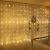 Led Lichterketten, 80 Sterne 144 Leds 2mx1.5m Anschließbar Sternenvorhang mit 8 Modi Fernbedienung fensterlichterketten weihnachten Weihnachtsbeleuchtung für Fenster Dekorat - 1